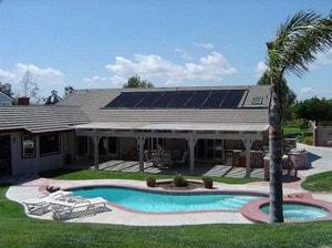 solar heating sunninghill